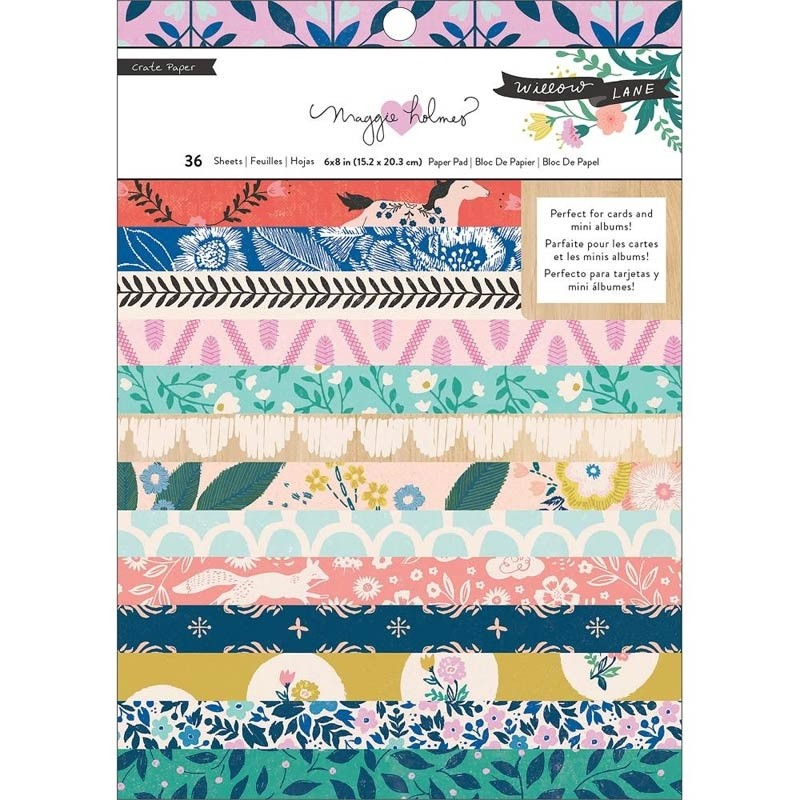 American Crafts Willow Lane: 6x8 Collection Paper Pad