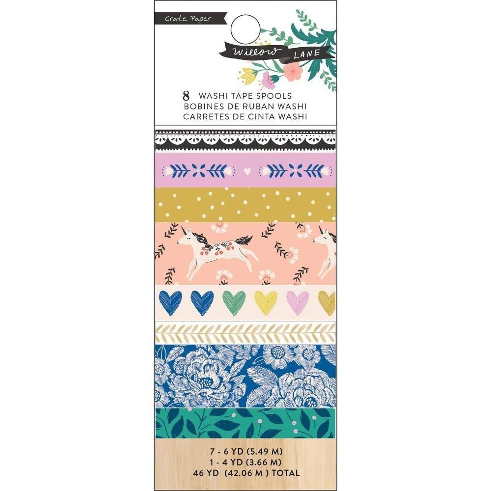 American Crafts Willow Lane: Washi Tape Set
