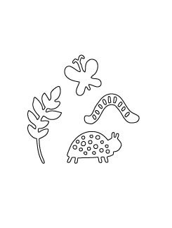 SALE - Flora & Fauna Woodland Critters Die 30021