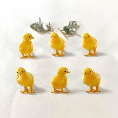 Yellow Chick Brads