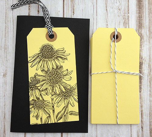 Soft Yellow Tags