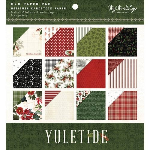 My Mind's Eye Yuletide Paper Pad