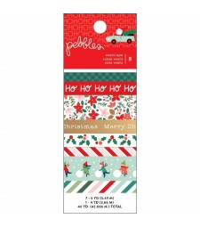Merry Little Christmas Washi Tape 8/Pkg