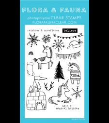 SALE - Flora and Fauna Unicorn Ice Castle 20199