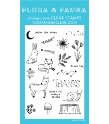 Flora and Fauna woodland night sky 20228