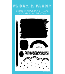 Flora and Fauna Texture Set 9 Clear Stamps
