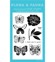 Flora and Fauna Butterfly Dreams 20309