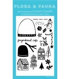 Flora and Fauna Gingerbread Cafe Set 20345