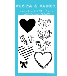 Flora and Fauna Love You Lots Cursive Set 20353
