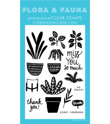 Flora and Fauna Plant Party Set 20355