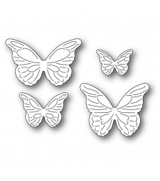 Poppystamps Intricate Cut Butterflies 2367