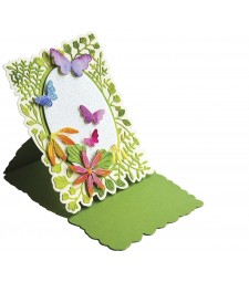 Poppystamps Fern and Daisy Pop Up Easel Set 2377