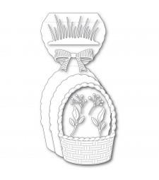 Poppystamps Woven Basket Pop Up Easel Set 2463