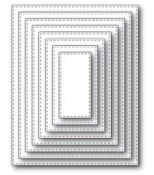 Memory Box Stitched Rectangle Layers (30009)