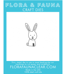 Flora and Fauna Woodland Bunny Die 30086