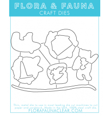 Flora and Fauna  Polar Bear Fun Matching DIE.30118