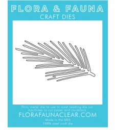 Flora and Fauna Pine branch Die 30125