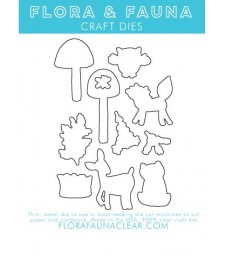 Flora and Fauna Mushroom Forest Matching Die 30155
