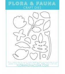 Flora and Fauna Brush Petal 3 Matching Die 30184