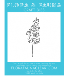 Flora and Fauna Lacy Fern Die 30255