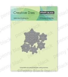 Penny Black Dancing Snowflakes die 51-708