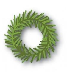 Memory Box Pine Wreath Die 94029