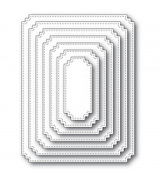 Memory Box Matinee Rectangle Layers 94438
