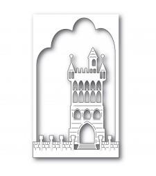 Memory Box Fantasy Castle Collage 94510