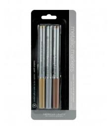 Metallic Markers 3 pack