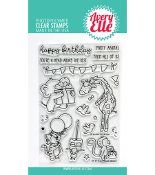 Avery Elle A Head Above Clear Stamps