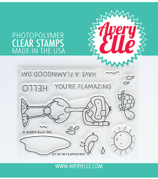 Avery Elle Flamazing Clear Stamps ST2119