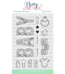 Pretty Pink Posh Baby Stamp Set