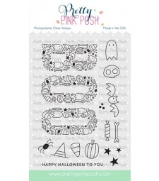 Pretty Pink Posh Boo Stamp Set