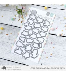 Mama Elephant Little Bunny Agenda Cuts