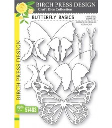 Birch Press Butterfly Basics craft die 57403