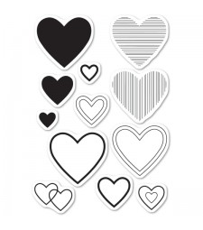 Have a Heart Clear Stamp Set CL5238