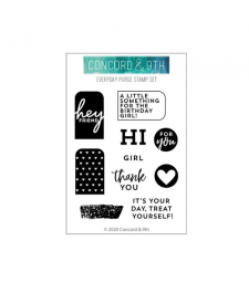 Concord and 9th Everyday Purse Stamp Set