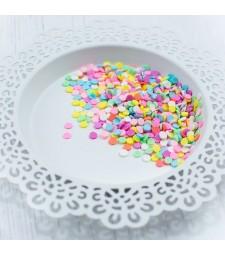 Pretty Pink Posh Cupcake Clay Confetti