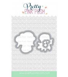 Pretty Pink Posh Cupid Friends Coordinating Dies