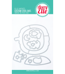 Avery Elle Boo to you clear Elle-ments D2037