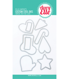 Avery Elle Christmas Cookies Elle-ments d2039