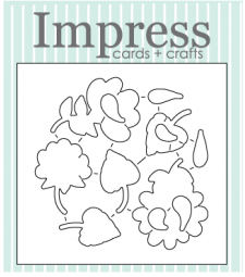 Impress Conversation Heart die set