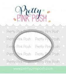Pretty Pink Posh Easter Eggs Coordinating Dies
