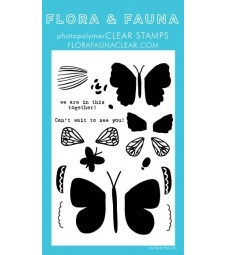 NEW - Flora and Fauna Build a Butterly Clear set 20319