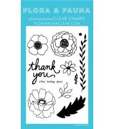 Flora and Fauna Ruffled Flower Set 20320