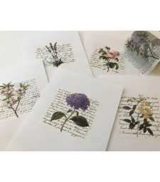 Wide Floral Washi Tape