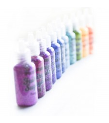 RAINBOW Glitter Glue Set