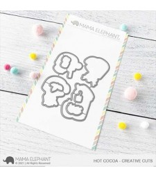 Mama Elephant Hot Cocoa Creative Cuts