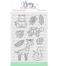 SALE - Pretty Pink Posh Jungle Additions Stamp Set