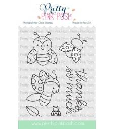 Pretty Pink Posh Ladybug Friends Stamp Set